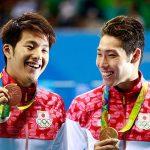 メダルの違いは笑顔の違い!?