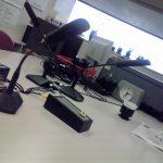 ラジオ収録の練習