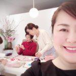 中四国初!広島リボンローズ教室主宰大野紀代美先生の講座を受講してきましたーー!